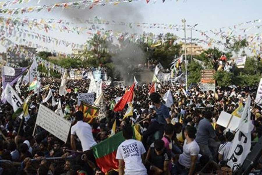 HDP mitingine IŞİD saldırısı davası: Tutuklama talebine ret!