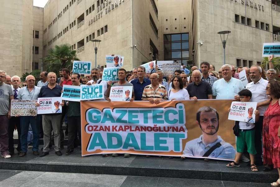 Gazeteci Ozan Kaplanoğlu'ya tahliye kararı