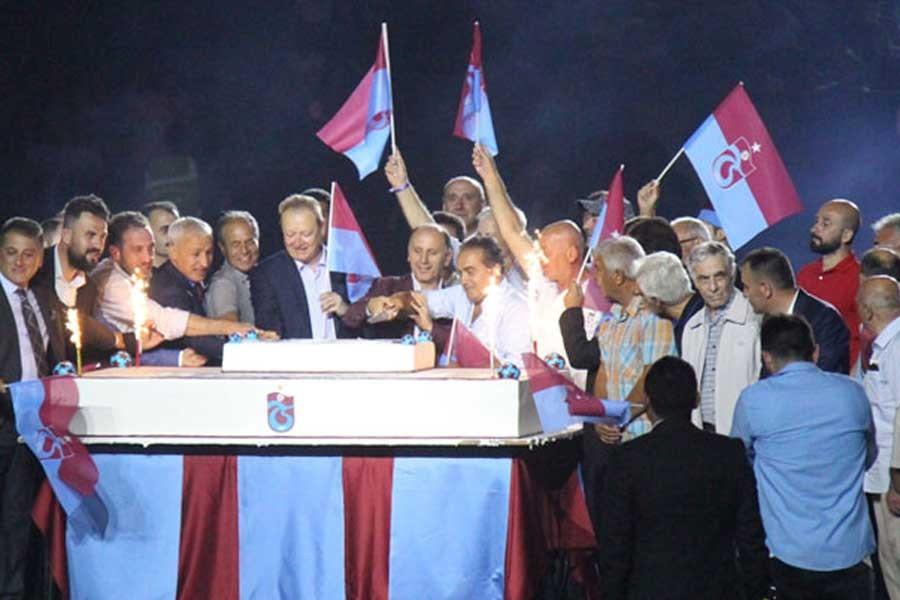 Trabzonspor'dan 50'nci yılında coşkulu kutlama