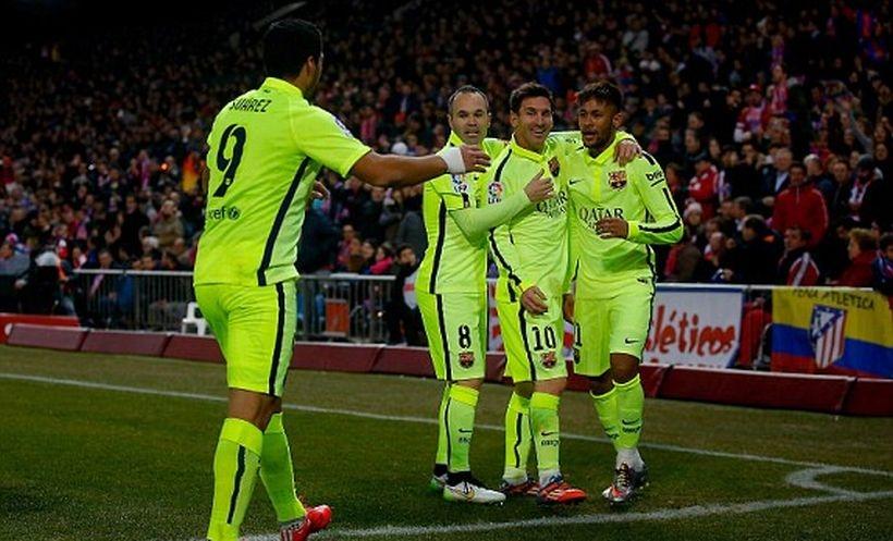 Barcelona, Atletico Madrid'i kupadan eledi