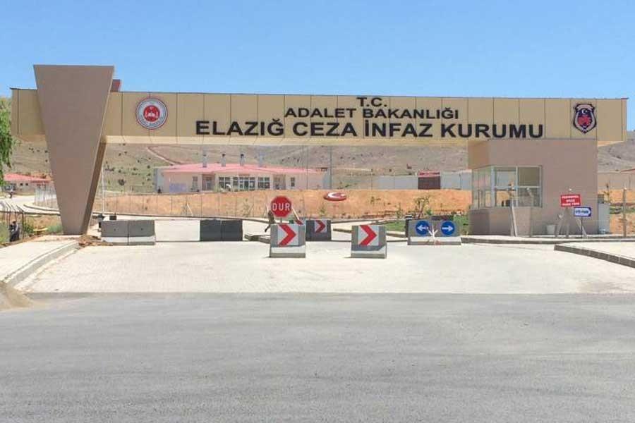 Elazığ Cezaevi'nde yangın