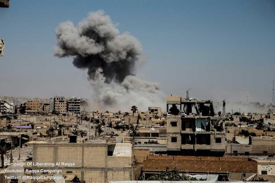 SDG, IŞİD'i Rakka'dan tamamen çıkardı (Gün gün yaşananlar)