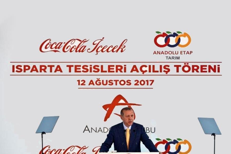 COCA COLA'YA <br> AKP KIYAĞI
