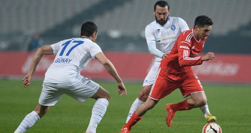 Beşiktaş, Sarıyer'i 3-1'le geçti