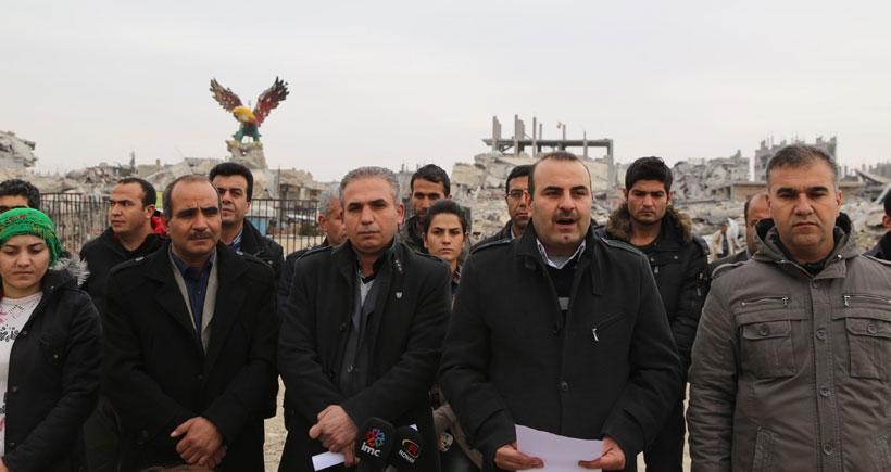 Kobanê'nin inşası için komisyon oluşturuldu