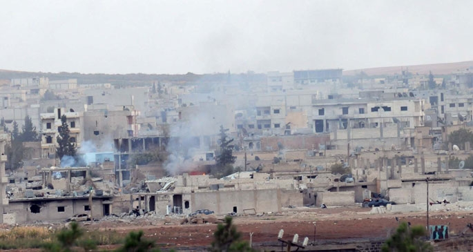 Peşmerge, Kobanê'de IŞİD'e katyuşa füzeleri attı