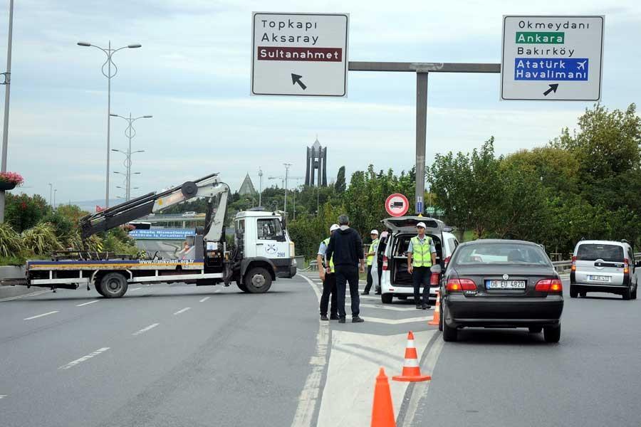 Bayram provaları nedeniyle bazı yollar trafiğe kapatıldı