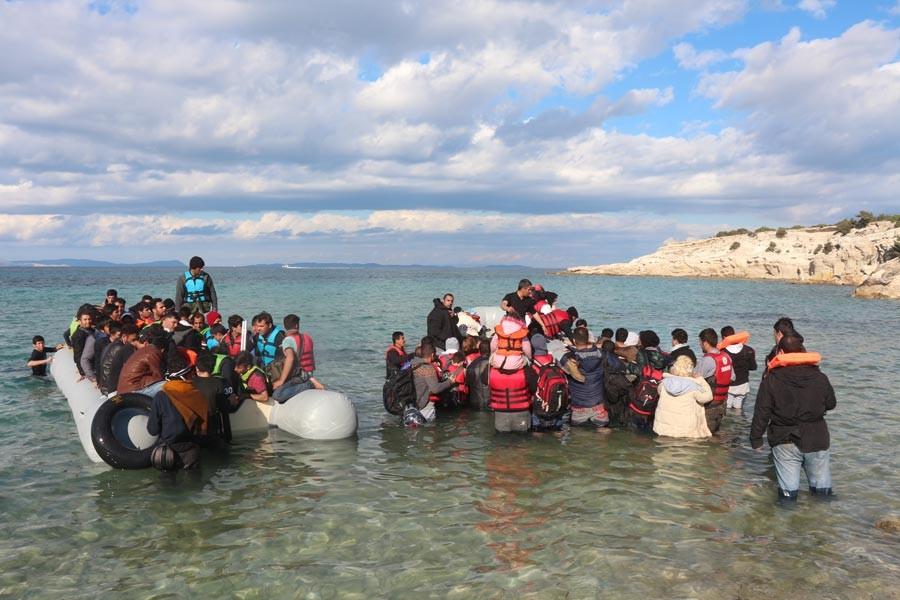 Ege Denizi'nde mülteci geçişleri yeniden arttı