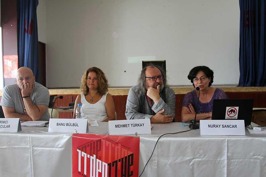 Karaburun Bilim Kongresinde Ekim Devrimi oturumu