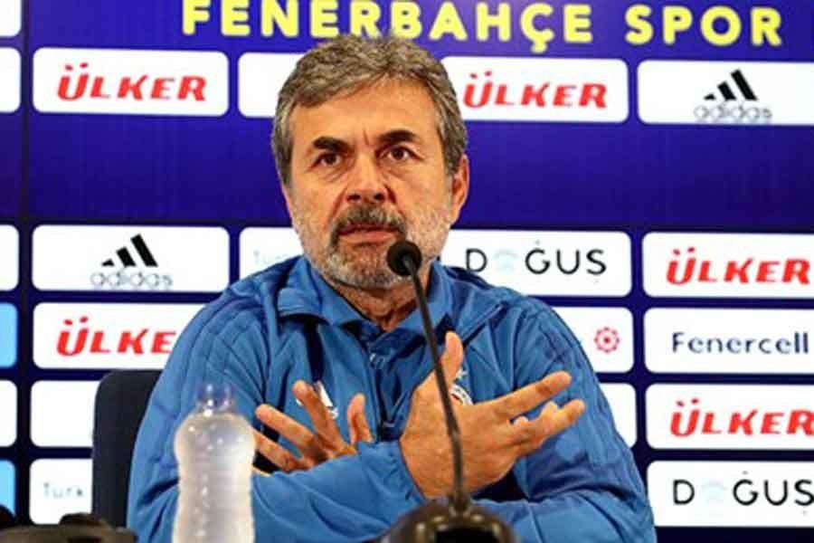 Fenerbahçe Teknik Direktörü Aykut Kocaman Samandıra'da