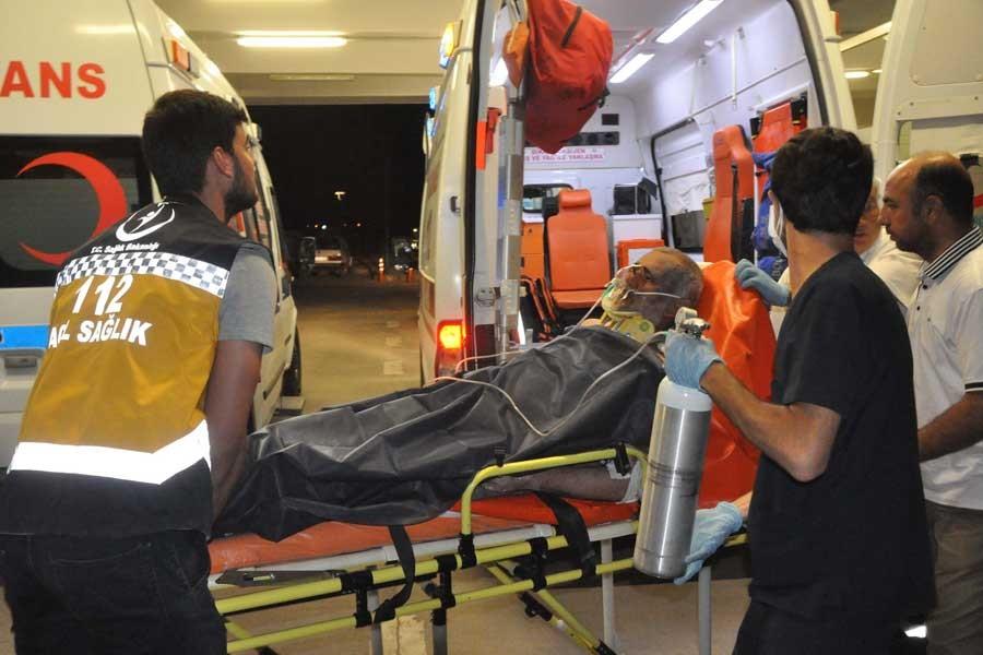Çelikhan'da 3'ü sağlıkçı, 4 kişi metan gazından zehirlendi
