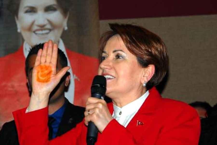 'Akşener'in partisinin logosu 'kınalı el' olacak' iddiası