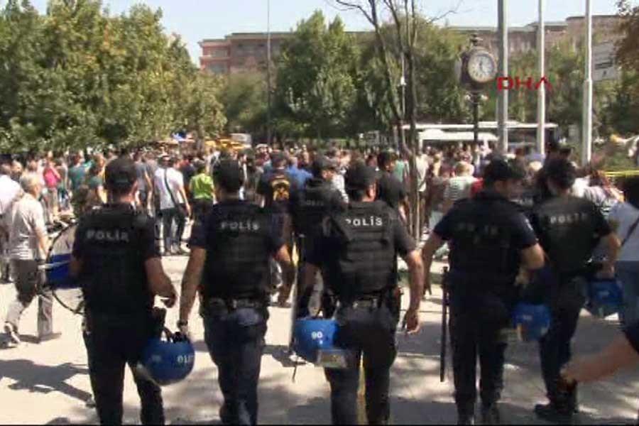ÇGD, gazetecilere dönük polis saldırısına tepki gösterdi