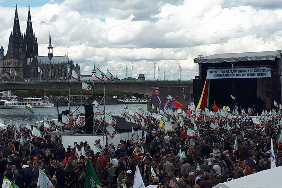 Güvenlik önlemleri altında Kürt Kültür Festivali