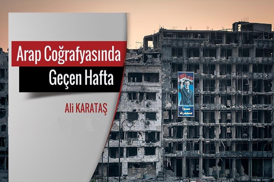 'Emevi camisinde Esad'la namaz'