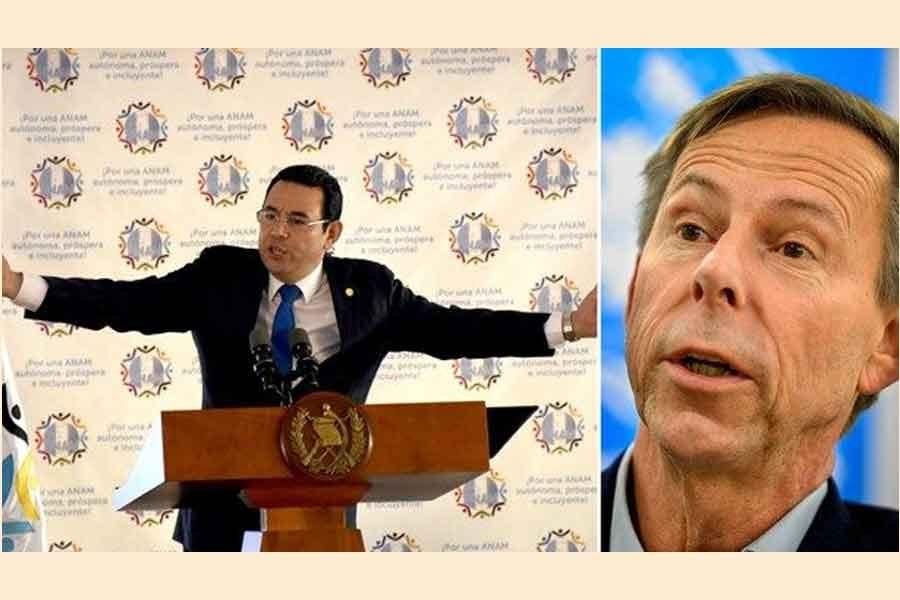 İsveç ve Guatemala arasında yolsuzluk krizi