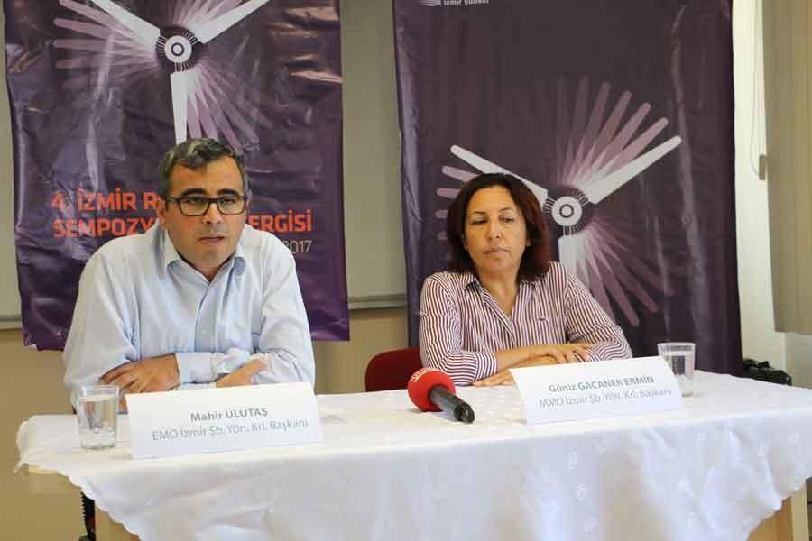 4. İzmir Rüzgar Sempozyumu 28 Eylül'de başlıyor