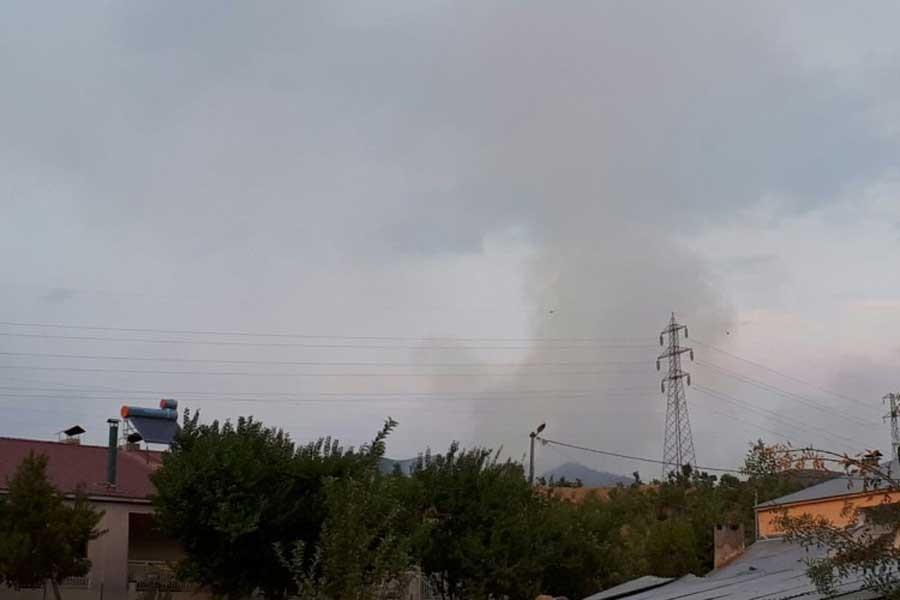 Bölgede orman yangınları devam ediyor