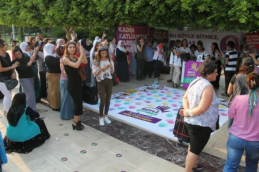 Adana'da kadınlar 'Bu böyle gitmez' dedi