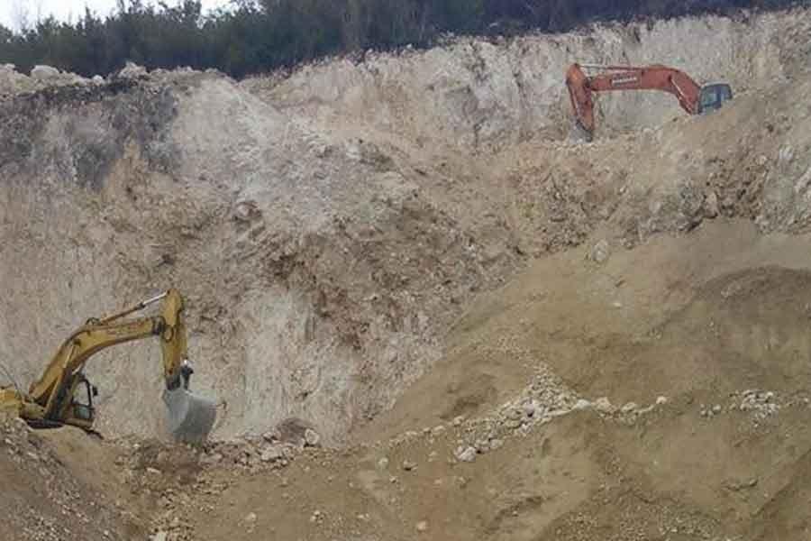 Ordu Kumru'da taş ocağına tepki sürüyor
