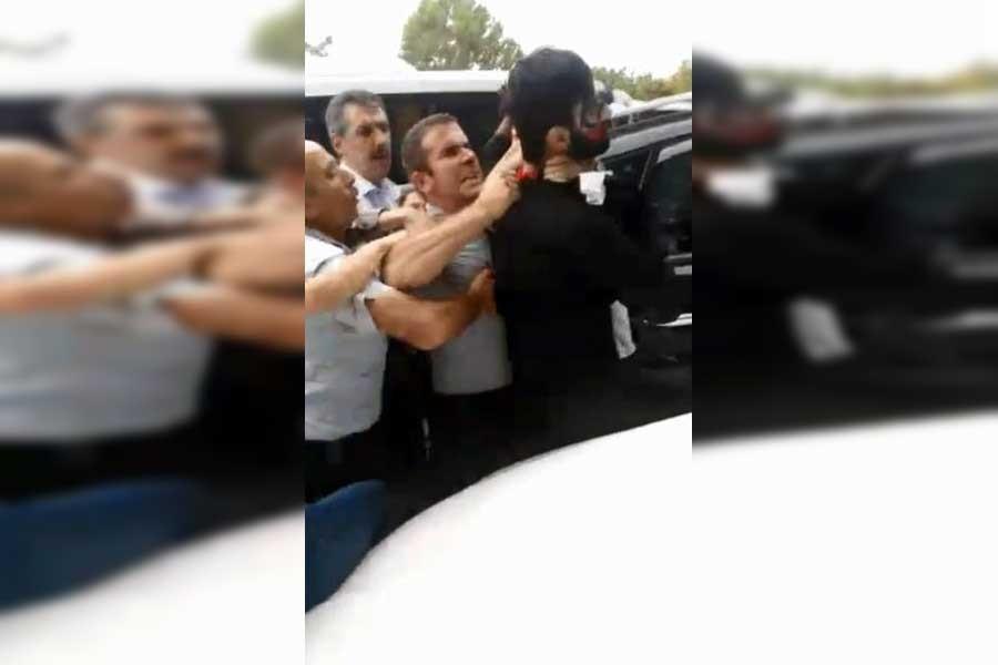 Trabzon'da özel güvenlik öğrencilere tekme tokat saldırdı