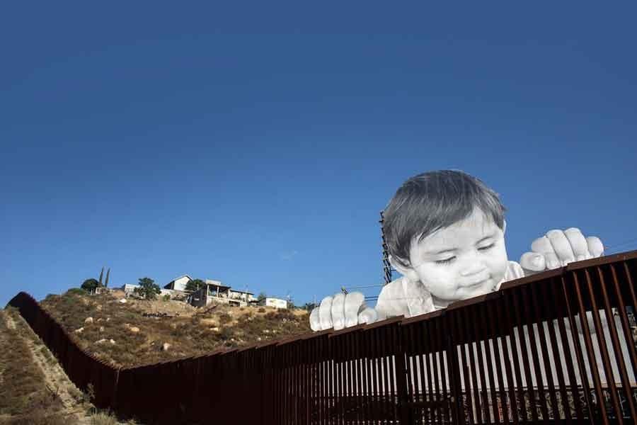 Meksika sınırına duvar projesi modelleme aşamasında