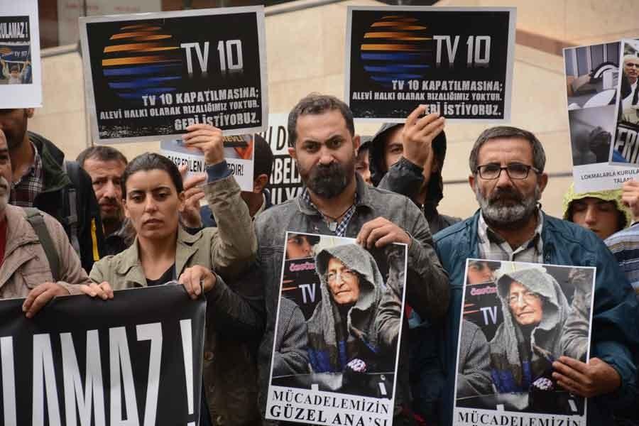 TV10 emekçileri: Bizim için her yer mücadele alanı