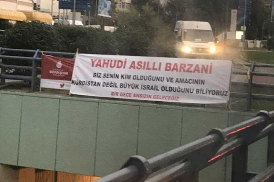 Paylan: 'Yahudi asıllı Barzani' pankartına işlem yapıldı mı?