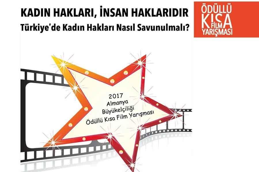 'Kadın Hakları İnsan Haklarıdır' film yarışması sonuçlandı