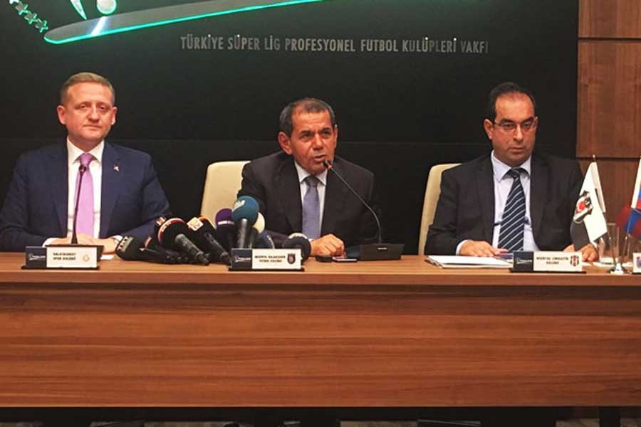Dursun Özbek: Disiplin cezalarını TFF ile görüşeceğiz