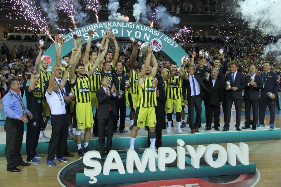 Cumhurbaşkanlığı Kupası Fenerbahçe Doğuş'un
