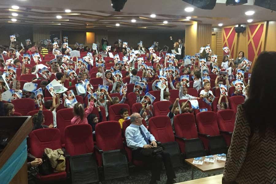 Maltepe'de çocuklara hayvan sevgisi üzerine seminer verildi