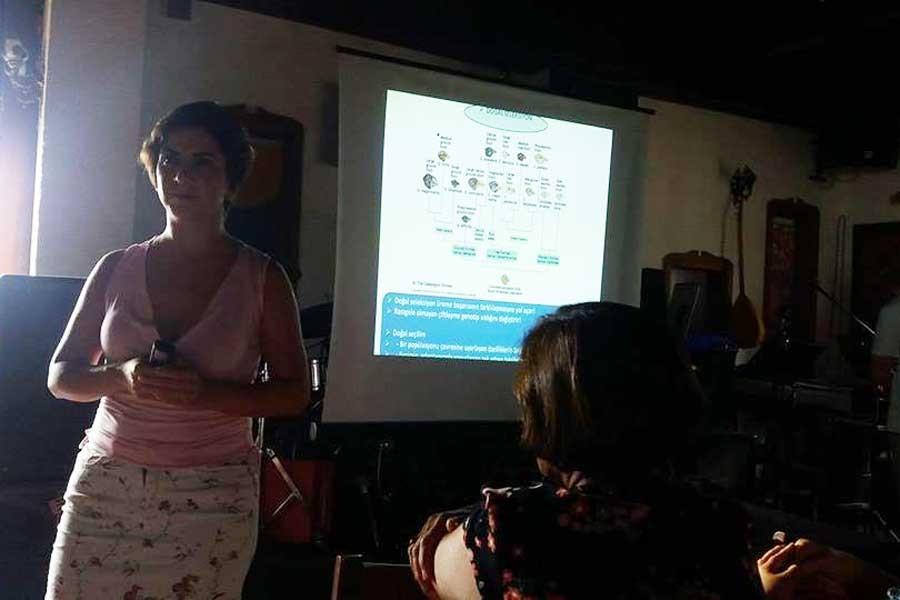 Antalya Dayanışma Akademisinin ilk dersi evrim oldu