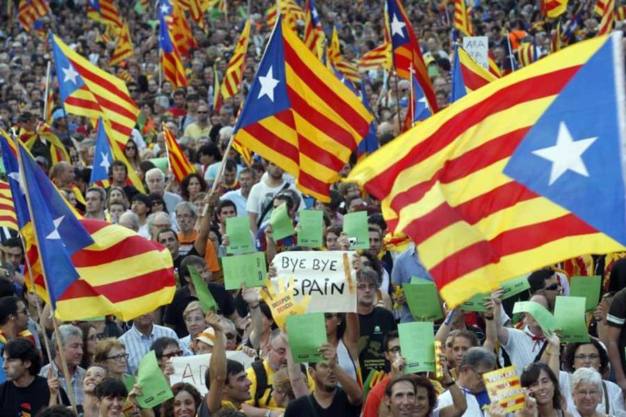 Katalonya'nın bağımsızlık ilanı kararı iptal edildi