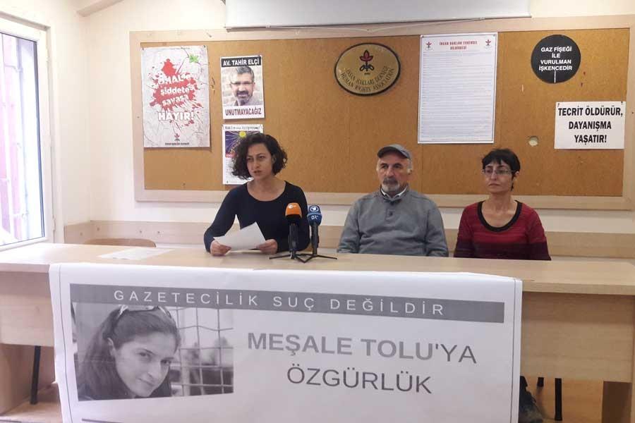 ETHA çalışanları: Meşale Tolu'ya özgürlük