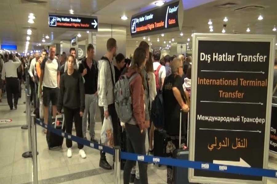 ABD ile Türkiye arasındaki vize yasağı başladı