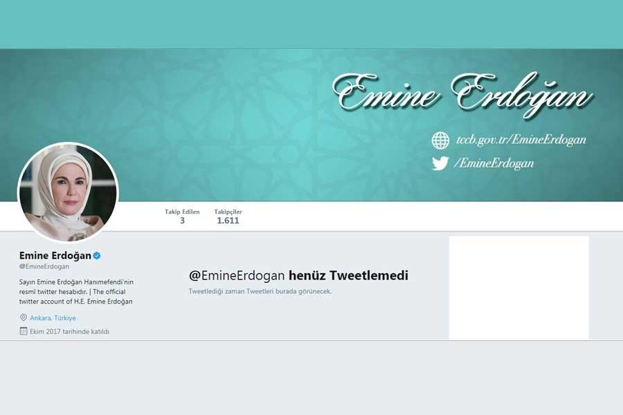 Emine Erdoğan sosyal medyada
