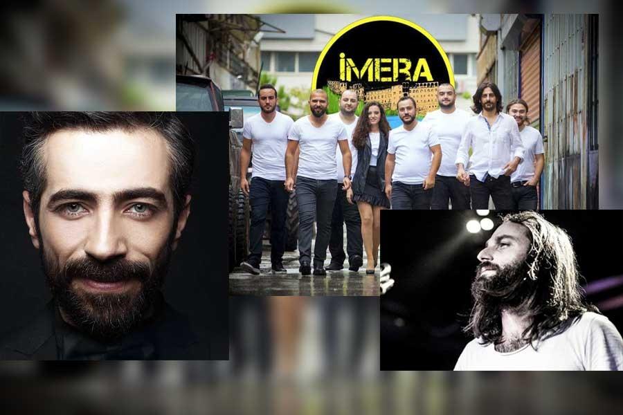 Karadenizli sanatçılar Derya Aydın için sahnede