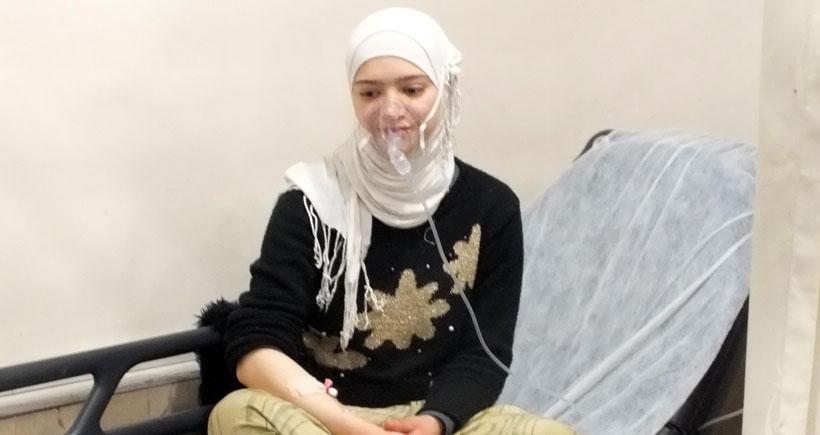 Suriyeli ailenin 9 ferdi sobadan sızan gazdan zehirlendi