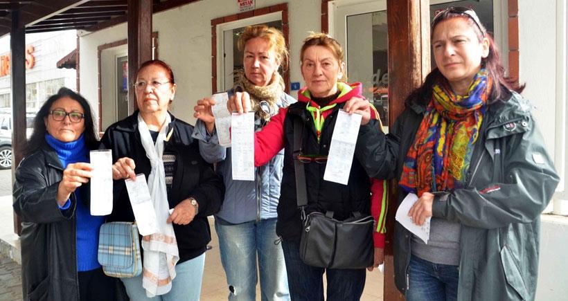 Bodrum'da yine fatura krizi