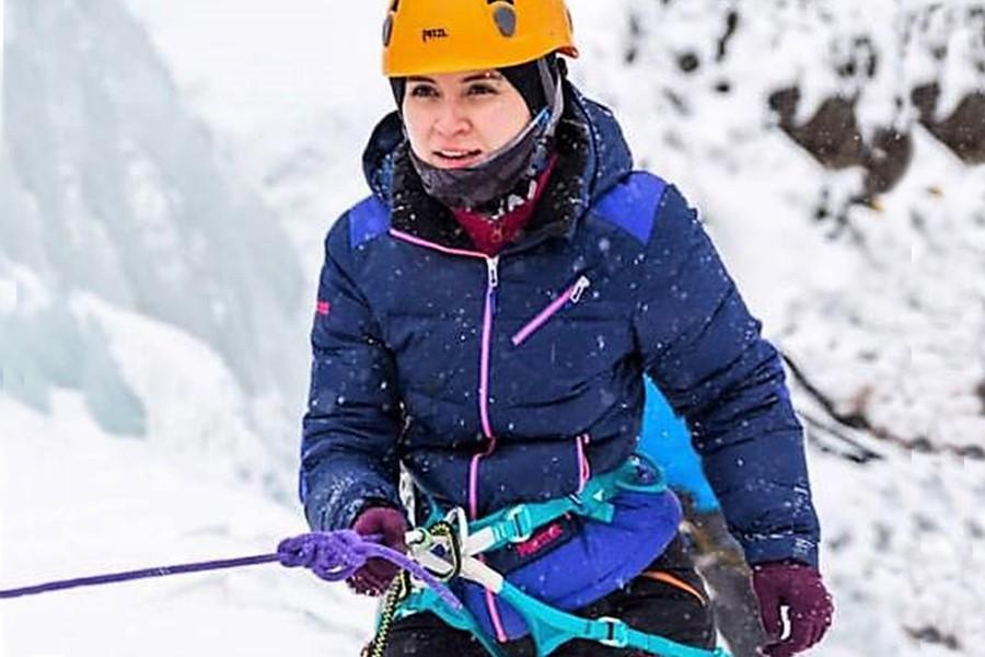 Kaya tırmanışında düşen Cansu Nur Özkalp yaşamını yitirdi