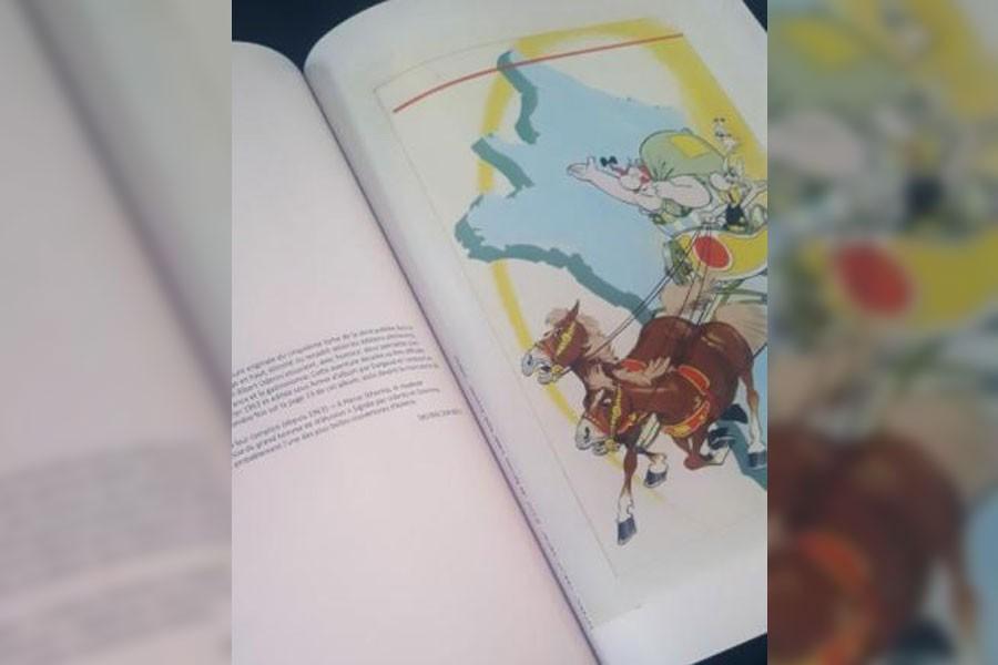 Asteriks'in kapak illüstrasyonu 1.4 milyon avroya satıldı