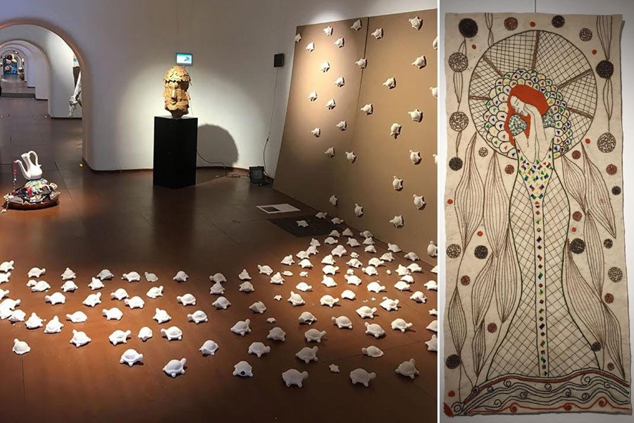 Sanat, engel barikatını yıktı