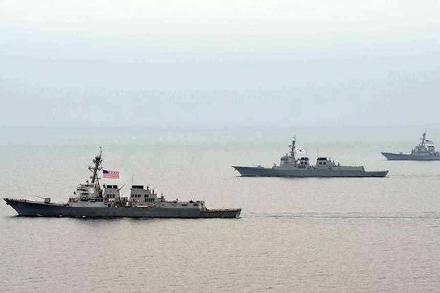ABD ve Güney Kore ortak tatbikata başladı