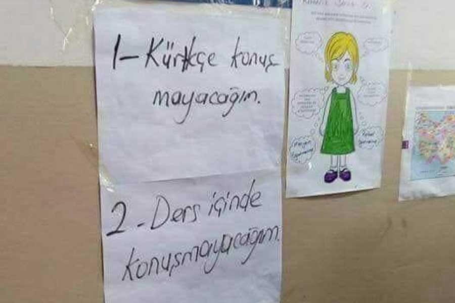 Şırnak'ta bir okulda öğretmenden Kürtçe konuşma yasağı