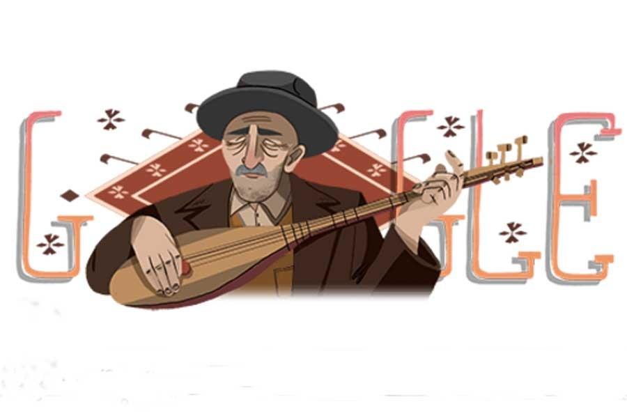 Doğum yıl dönümünde Google'dan Aşık Veysel'e özel doodle