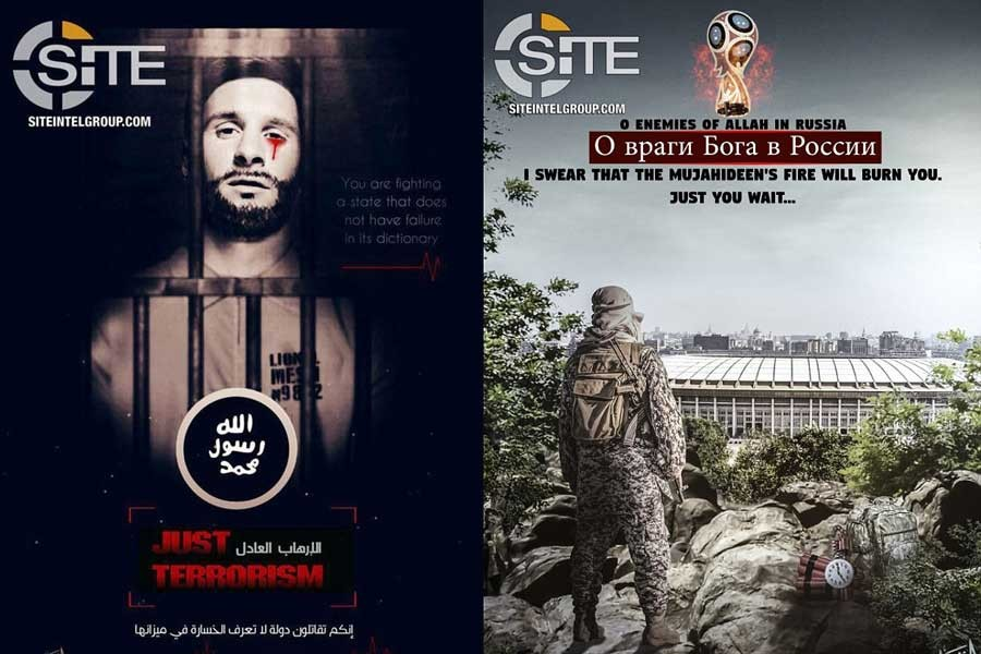 IŞİD'den Dünya Kupası'na Messi'li, bombalı tehdit