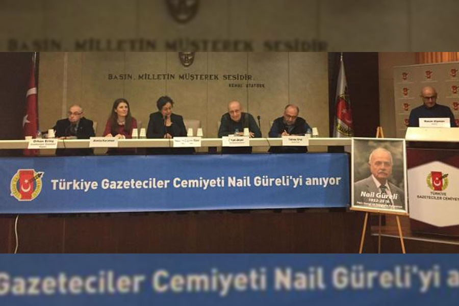 Usta gazeteci Nail Güreli, dostları tarafından anıldı