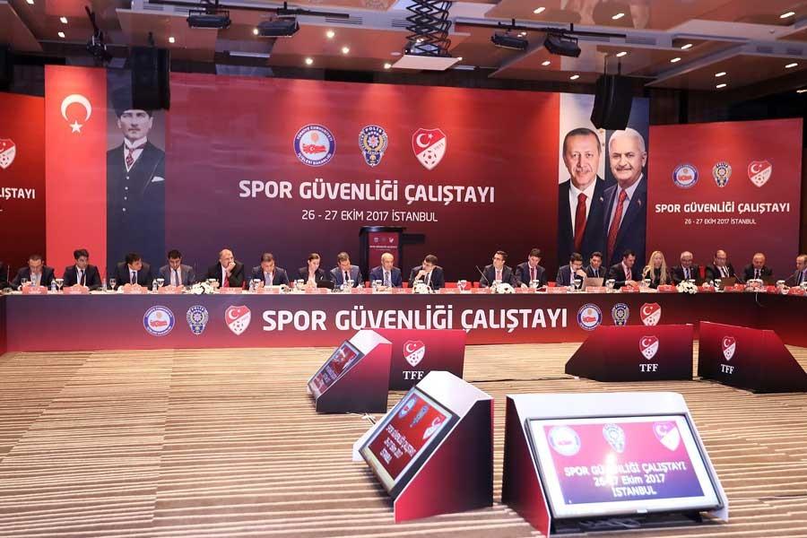 Spor Güvenliği Çalıştayı tamamlandı