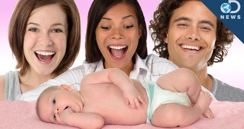 3 ebeveynli bebek